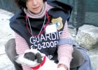 Räddningarbetare med hund