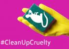 Stoppa djurförsök för hushållsprodukter i EU!