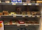 En kyl med lakto-ovo-vegetariska och vegetariska produkter.