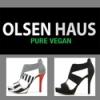 Olsen Haus logotyp med två skor
