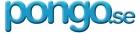 Pongo logotyp i blått