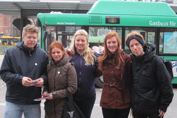 Lund och Malmö samarbetar ofta inom Djurens Rätt.