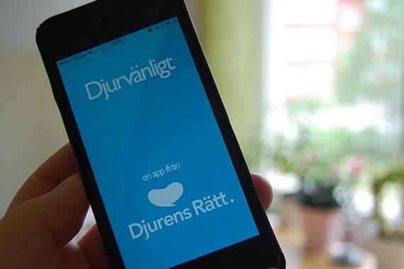 Ny version av appen Djurvänligt