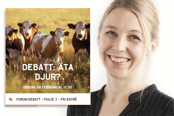 Camilla Björkbom deltar i debatten