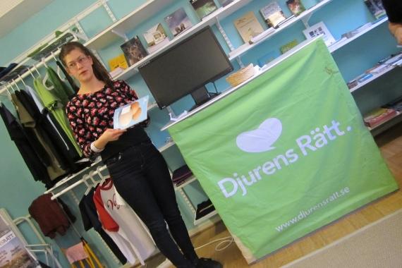 Maja Olofsson på årsmötet 2012