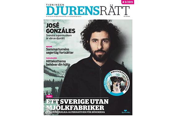 Tidningen Djurens Rätt nr. 3/2015