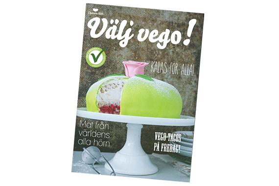 Djurens Rätts inspirationsmagasin Välj Vego!