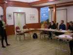 Camilla Björkbom föreläser om kycklingindustrin